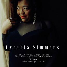 Cynthia Simmons at Oklahoma Joes Fri Feb 17