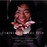 Cynthia Simmons Trio at Sisserou's 6817 #4